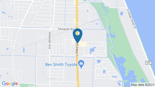 Days Inn by Wyndham Fort Pierce Midtown Map