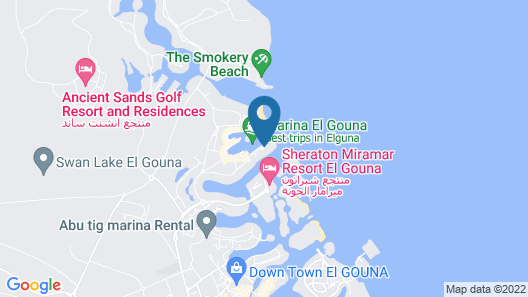 The Three Corners Ocean View Hotel Prestige - Adults Only +16 Map