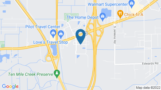 Hampton Inn & Suites Ft. Pierce Map