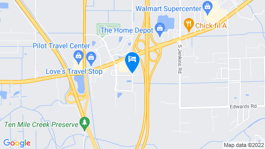 Comfort Suites Fort Pierce I-95 Map