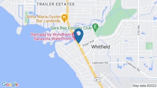 Lantern Inn & Suites Map