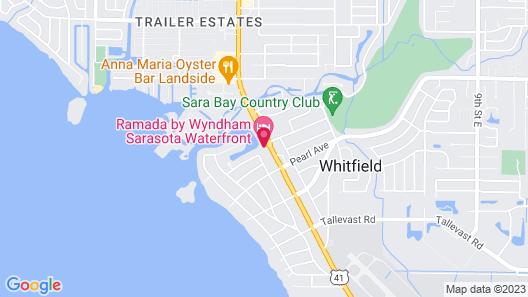 Ramada by Wyndham Sarasota Waterfront Map