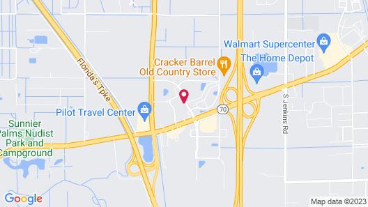 Sleep Inn Fort Pierce I-95 Map