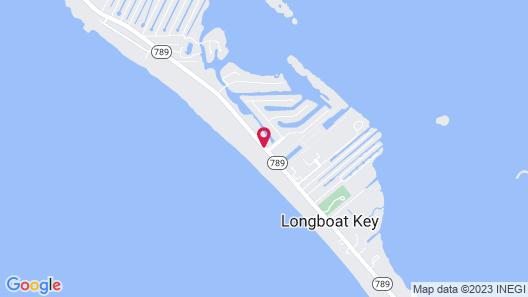 Silver Sands Gulf Beach Resort by RVA Map
