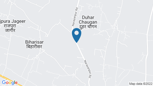The Tiger Hill Sariska Resort Map