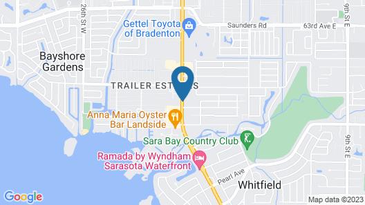 Quality Inn Bradenton - Sarasota North Map