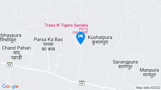 Trees & Tigers Map