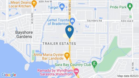 Super 8 by Wyndham Bradenton Sarasota Area Map