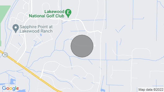 Lakewood National Golf Club High End Terrace, Monthly Rental Map