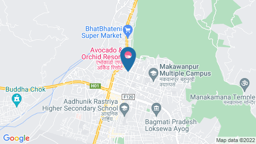 OYO 783 Mirage Boutique Hotel Map