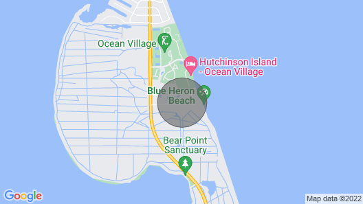 Special Rates for 2020 - Outstanding Ocean Front Penthouse Condo Map