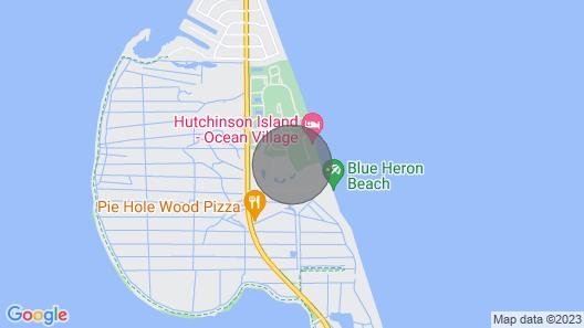 Beautiful Ocean Village - Ocean Villas On Hole One of Golf Course Bottom Floor Map
