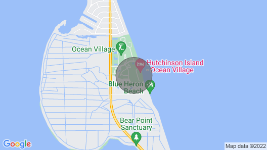 Oceanfront Tropical Paradise Map