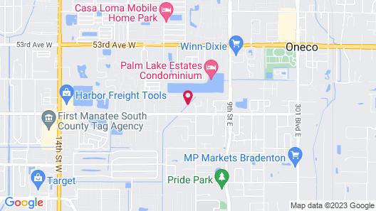 Arbor Terrace RV Resort Map
