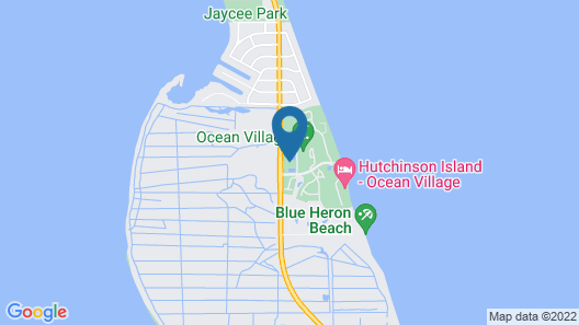 Beach Getaway in Oceanside Resort Map