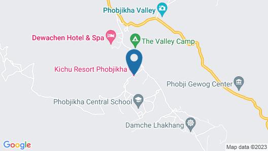 Kichu Resort Phobjikha Map