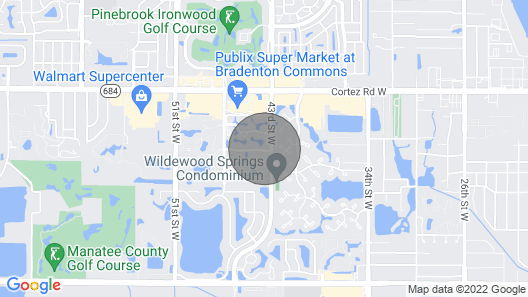 Gorgeous Paradise in Florida Map
