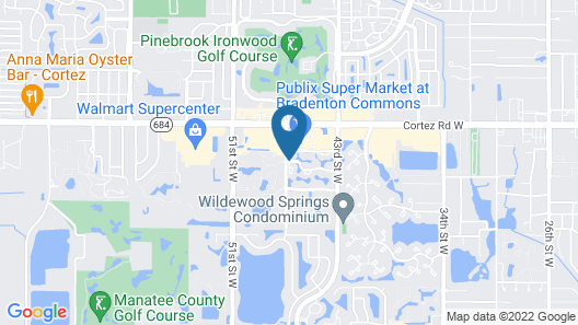 Shorewalk Vacation Villas Map
