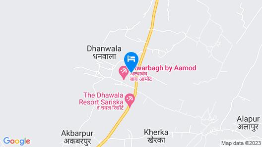 Alwar Bagh Sariska by Aamod Map