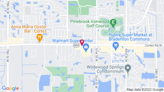 TownePlace Suites by Marriott Sarasota Bradenton West Map