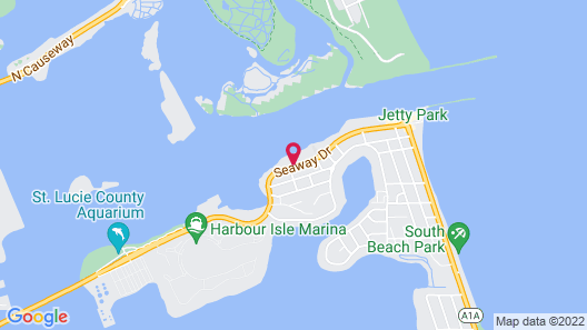 Hutchinson Island Plaza Hotel and Suites Map