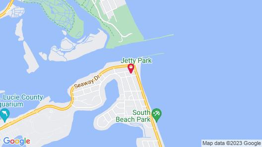 The Royal Inn Beach Hotel Hutchinson Island Map