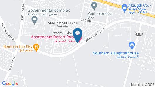 Manazel Hail Furnished Map