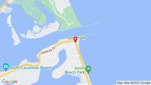 Rhumcay Beach Resort Map