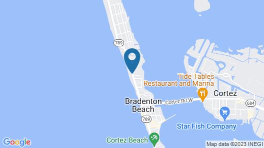 Tortuga Inn Beach Resort Map