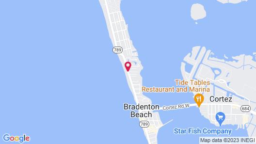 Tradewinds Beach Resort Map