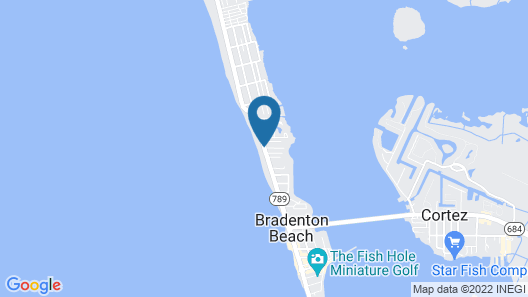 Tradewinds Beach Resort Map