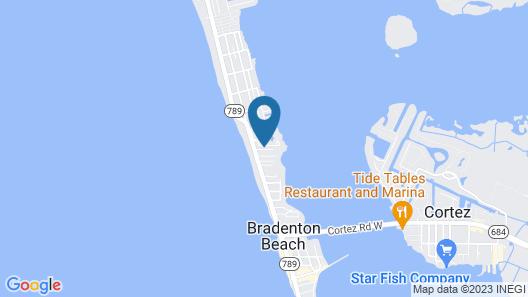 226 Bradenton Beach Club - 3 Br Condo Map