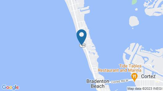 Seaside at Anna Maria Island Inn Map