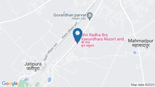 Shri Radha Brij Vasundhara Resort & Spa Map