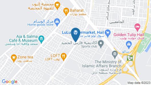 Al Raha Hotel Suites Map