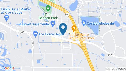 Quality Inn Near Ellenton Outlet Mall Map