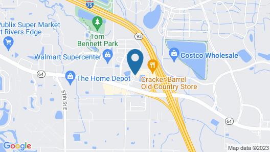 Americas Best Value Inn Bradenton Sarasota Map