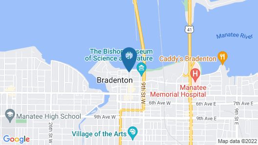 SpringHill Suites by Marriott Bradenton Downtown/Riverfront Map