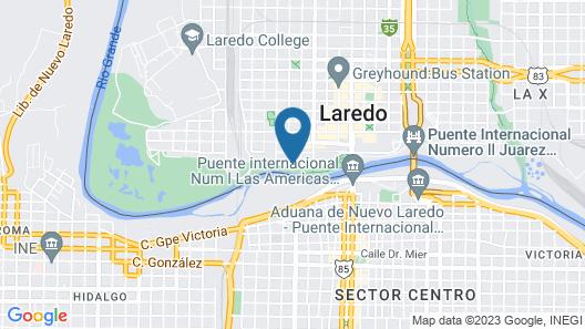 Rio Grande Plaza Hotel Map