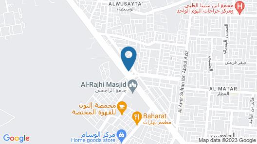 Jablah 2 ApartHotel Map
