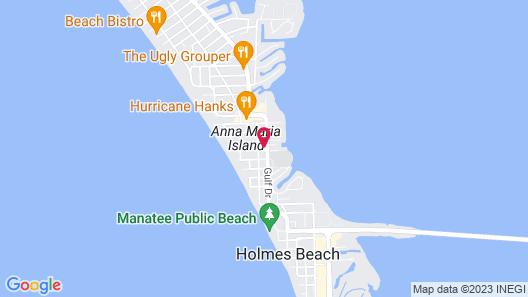 Key Lime Cove Map