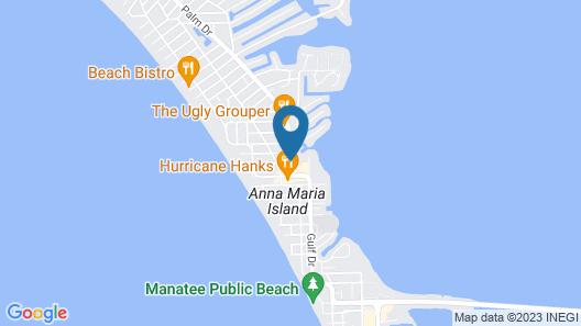 Waterline Marina Resort & Beach Club, Autograph Collection Map