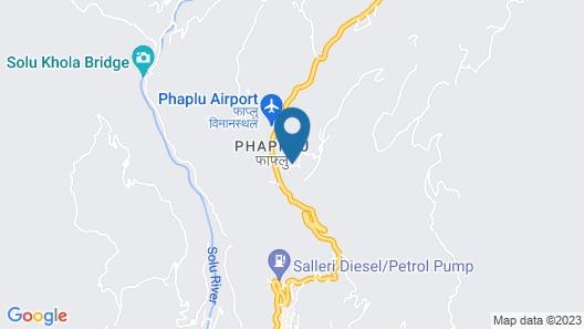 Kyirmu Lodge Phaplu Map