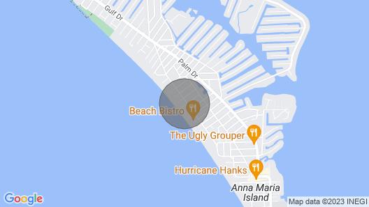 Cozy Island Rooms at Bali Hai Beach Resort Map