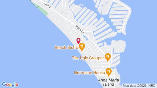 Bali Hai Beachfront Resort and Spa Map