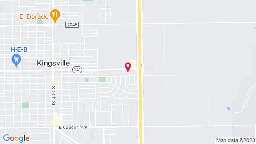 Executive Inn Kingsville Map