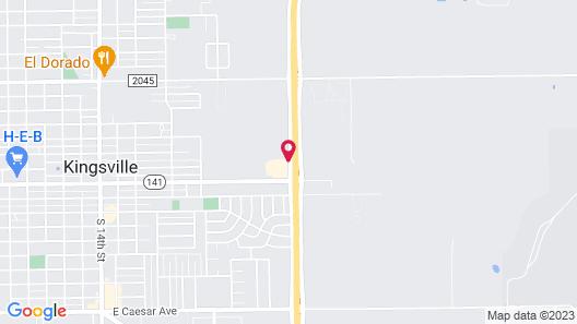 Motel 6 Kingsville, TX Map