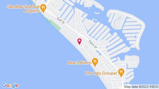Lizzie Lu's Island Retreat Map