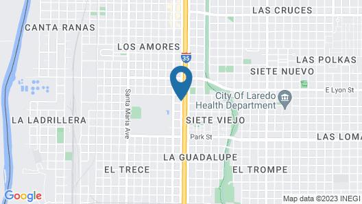 Courtyard Marriott Laredo Map