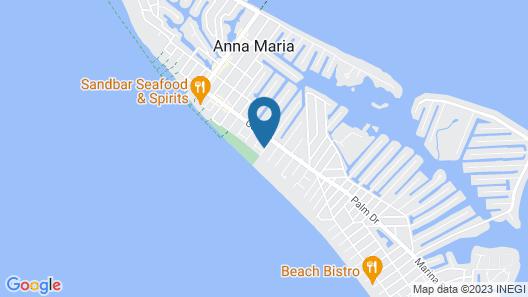 Anna Maria Beach Cottages Map